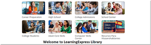 Visit the Learning Express Library!