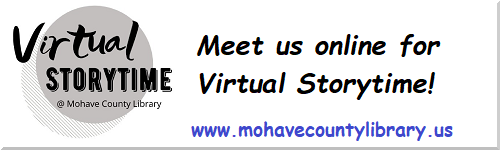 Meet us online for Virtual Storytime!