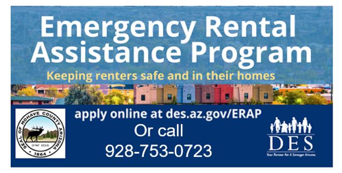 Emergency Rental Assistance Program (Click for More Information)